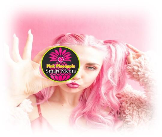 Image Pink Pineapple Girl